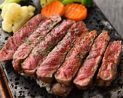 国産肉を使用し、みためはもちろん、味も最高の絶品!
