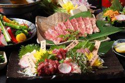 宴会コースは3時間飲み放題付き4000円と5000円コース