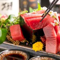 数量限定!マグロ尽くしこぼれ盛合せ♪当店人気な鮮魚メニュー。