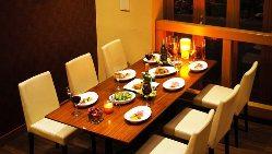 少人数宴会も対応可能です!4名様~10名様の個室あります!