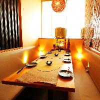 ●宴会予約受付中!少人数宴会から団体宴会まで個室で飲み会♪