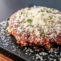 【鉄板焼きメニュー】 地元食材を使用した鉄板焼きの数々を肴に