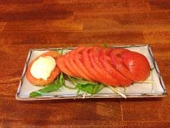 さっぱり、そしてしっとり!新鮮野菜のトマトスライス!
