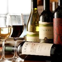 自然派ワインとこだわり食材を使用したお料理のマリアージュを。