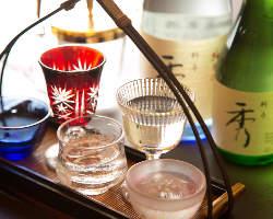 日本酒、焼酎、ビールなどお酒も豊富に取りそろえております