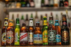 世界各国のビール50種類以上!その他のお酒もご用意してます♪