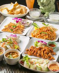 日本人に合う味に仕上げたシェフの自慢の料理をお楽しみ下さい!