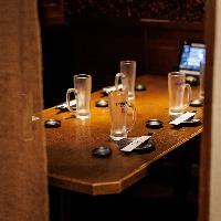 上質な個室空間で厳選素材の料理の数々をご堪能ください。