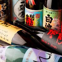 日本酒好きの方必見◎寫楽や東洋美人といった幻の日本酒飲み放題