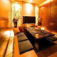 【大小個室完備】 2~30名様までご利用いただける個室を完備