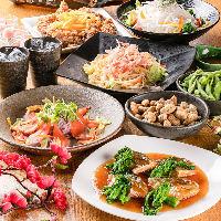 上州地鶏や産地直送の鮮魚など、こだわりの厳選料理