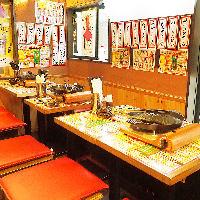 飲み放題メニューも◎ちょい飲みにも安心してご利用頂けます!
