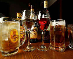 2H飲放付き♪お酒とシェフ自慢の 料理で至福のひとときをご提供