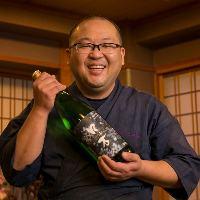 日本酒各種ご用意しております!