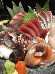 【お刺身7点盛り】 豊洲直送!新鮮な魚を毎日捌いてます!