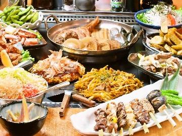 もんじゃ食べ放題とチーズタッカルビ 鉄板焼本舗