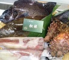 本日朝獲れ鮮魚がお楽しみいただけます。