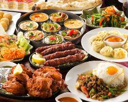 [豊富なコース] 食べ放題付きのコースを豊富にご用意!!