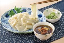 うどん、ひもかわなど上州ならではの麺料理