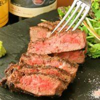 お肉料理の新しいメニュー!萬幻豚と松坂豚を使用した肉料理。