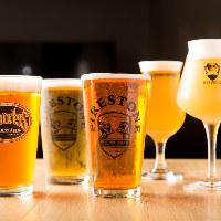 国産、海外品、限定品など希少なクラフトビールが堪能できます