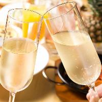 誕生日や記念日など特別な日の乾杯はスパークリングがおすすめ♪