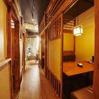 「和モダン」な店内はお洒落かつ気軽に楽しめる上質空間♪