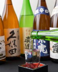 旬のお刺身に日本酒はいかがでしょう!