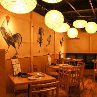 船橋駅3分!宴会最大40名様まで!各種宴会にご利用ください。