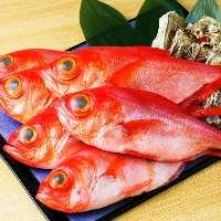 美味しさに自信あり!大将厳選の旬の魚介を毎日入荷!