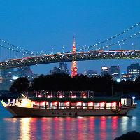 東京の夜景を一望
