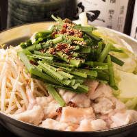 九州郷土料理を堪能!本場博多モツ鍋はぷりぷりで絶品です!