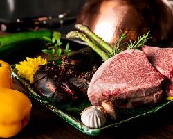お肉以外にも豊富なメニューをご用意しています。
