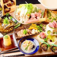 博多地鶏の本場水炊き鍋コース4500円~!各種ご宴会◎!