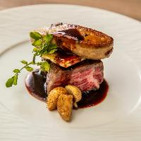 黒毛和牛のGRILLをメインに前菜から温かいお料理までご用意!