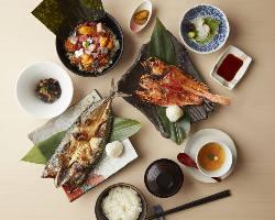 きんきや海鮮ばくだん丼など人気メニューを手軽に楽しめるランチ