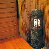 日本の歴史を感じることができる洗練された店内。