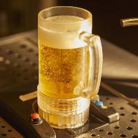 ビアガーデンコースはトルネードビールも含まれる2.5H飲み放題付