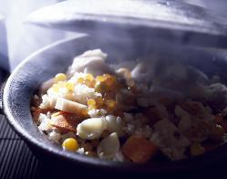 お好みで土鍋ご飯作ります
