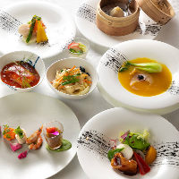 本格四川料理が味わえるコースは4,500円(税抜)からいただけます
