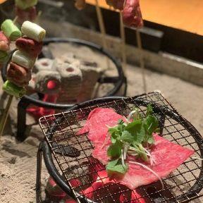 囲炉裏とワイン 然 sabi(さび)