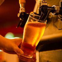 ◆多彩なドリンク◆ ビールやワイン、カクテルにウイスキーなど