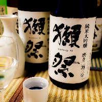 日本各地より地酒を各種取り揃え有り!3h飲み放題付8品3500円!