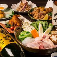 《宴会大好評》人気の地鶏宴会コースは3,499円より多数ご用意