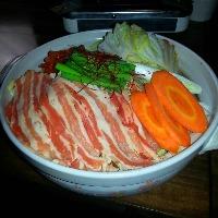 冬の新商品!本場韓国のチゲ鍋!1人前1100円!