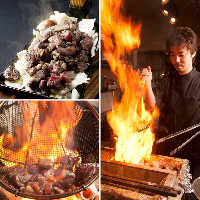 紀州備長炭を使用した炭火焼は香り豊かで必食価値あり!