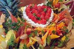 誕生日や記念日にメッセージ付きケーキ!