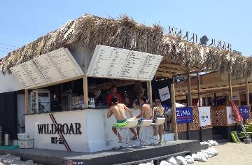 逗子ビーチ 海の家BBQ WILD BOARの画像