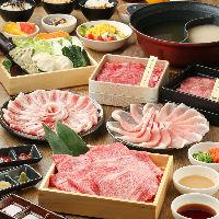 黒毛和牛や国産牛など色々なお肉をご用意♪