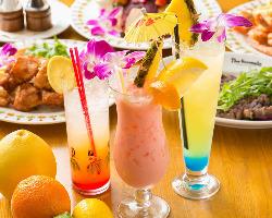【ノンアルコール】 ハワイアンノンアルコールカクテルが豊富!